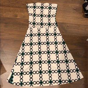 Julie Brown deco print mini dress
